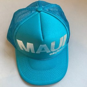 Esky Flavor MAUI Trucker Hat Blue Fun!